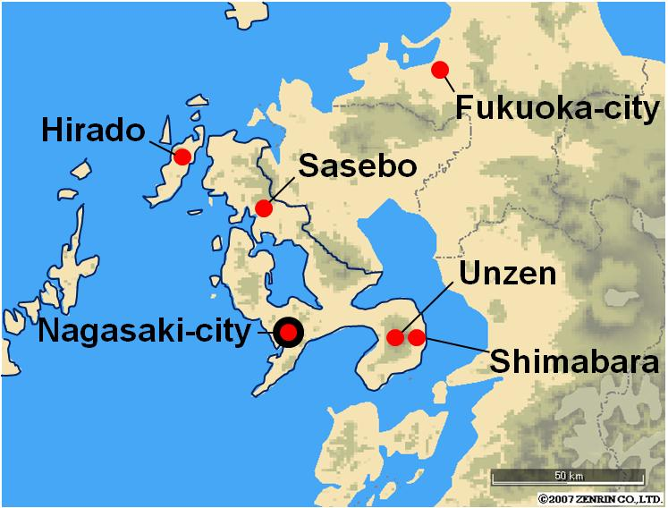 Nagasaki On World Map.Nagasaki Unesco Hidden Christian Sites 3 Days Tour Japan Kyushu
