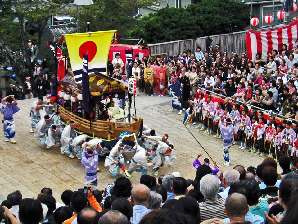 Nagasaki Kunchi Is One Of Big Three Festival In Japan Held On October
